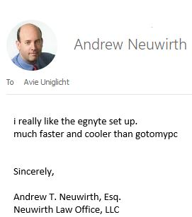 Andrew Neuwirth - Egnyte User
